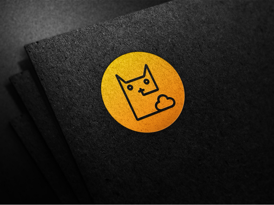 千品猫LOGO设计中标图2