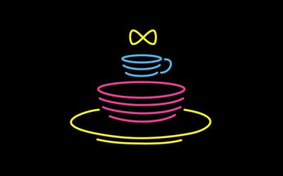 港欣茶餐厅logo设计