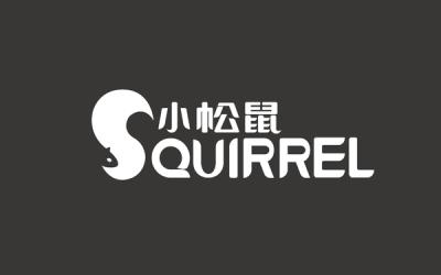 小松鼠logo設計