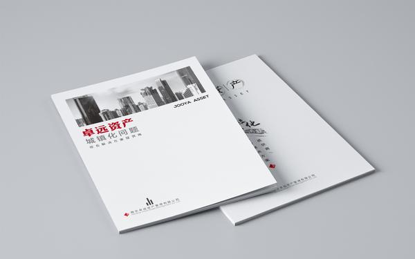 卓远资产公司画册设计