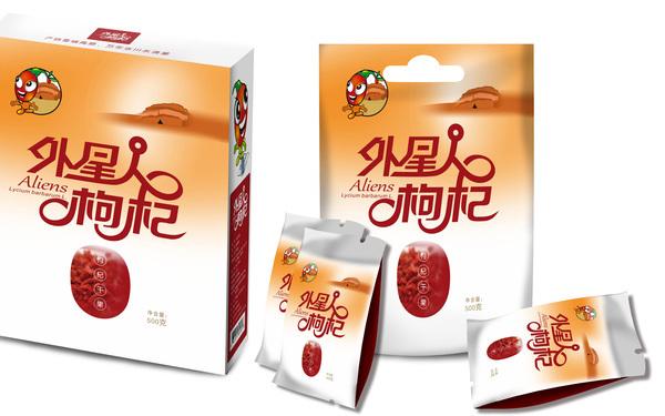 青海枸杞包装系列设计