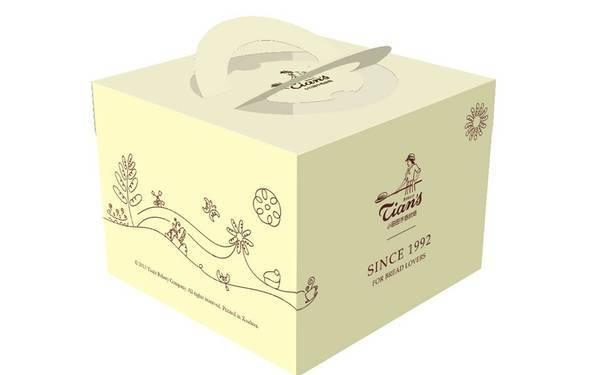 小田田蛋糕店包装设计