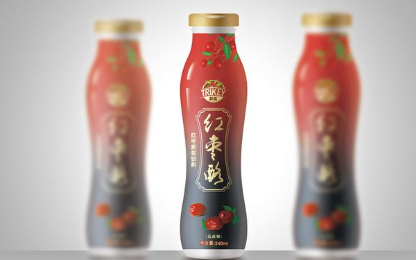 彩肌飲料食品品牌包裝設計