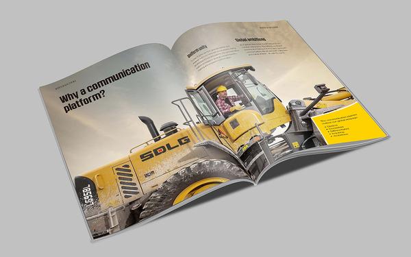 国外机械产品画册设计