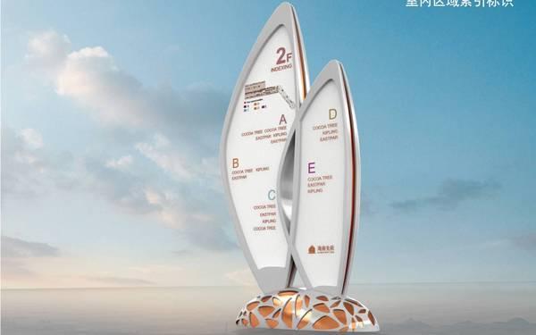 海航集团美兰机场免税店导示系统设计