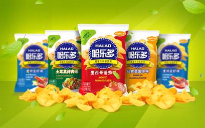 哈乐多薯片包装