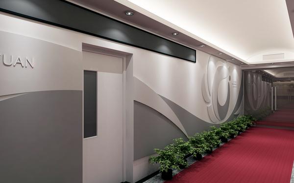 办公区形象墙