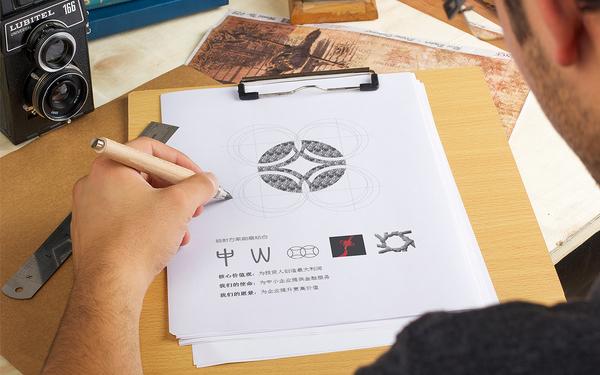 中威融信logo设计