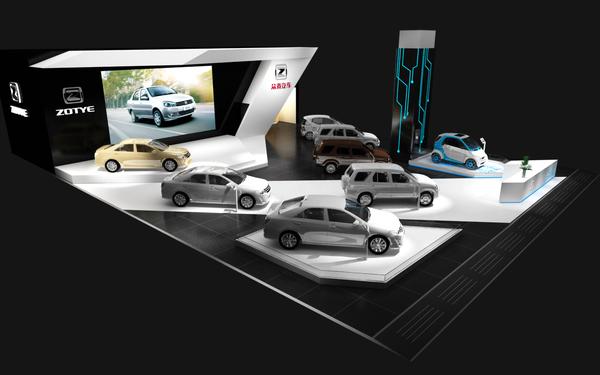2014年北京国际车展众泰展位