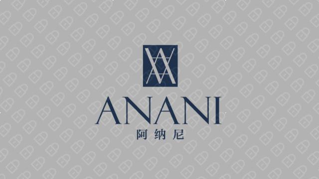 阿纳尼家装品牌LOGO设计入围方案9