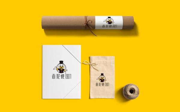 香泥烧品牌标志设计