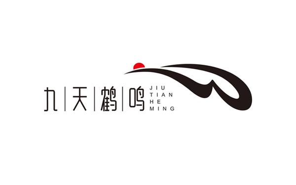 九天鹤鸣标志设计