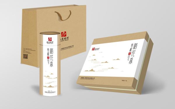 尚米稻家的包装设计