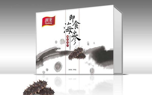 润龙食品海参包装设计