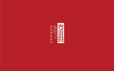 京兆愿景装饰logo设计
