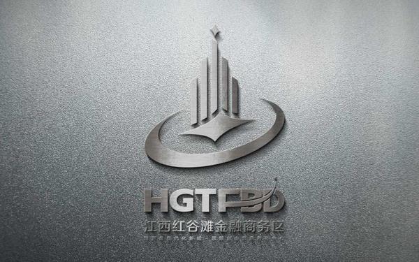 红谷滩金融中心logo设计
