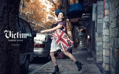 旅英服装设计师刘美惠 型录拍摄