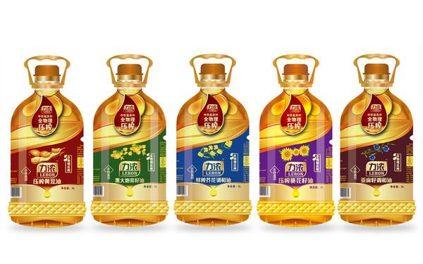 榆林三丰油脂食用油包装设计