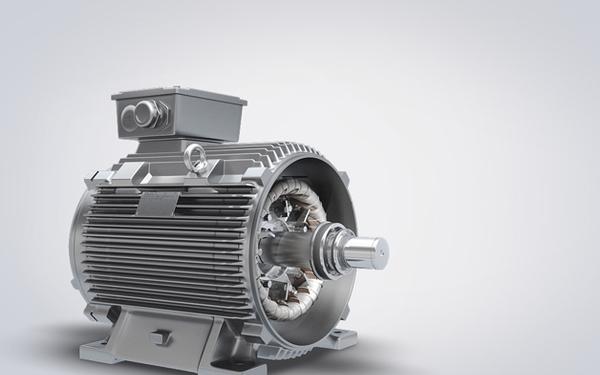 西门子新产品电机展示片