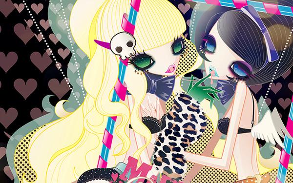 法蘭金少女時尚系列