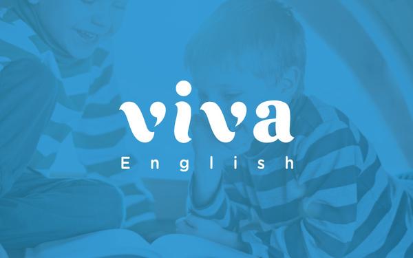 英语阅读培训机构 VIVA English 品牌设计