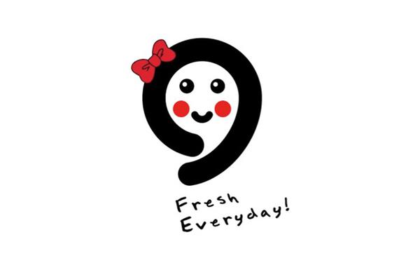 水果品牌草莓姐姐 logo设计