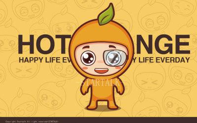 【热橙】卡通形象设计