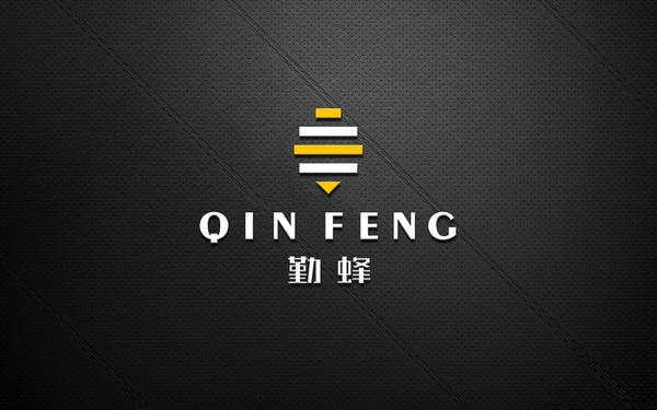 勤蜂商务 logo设计