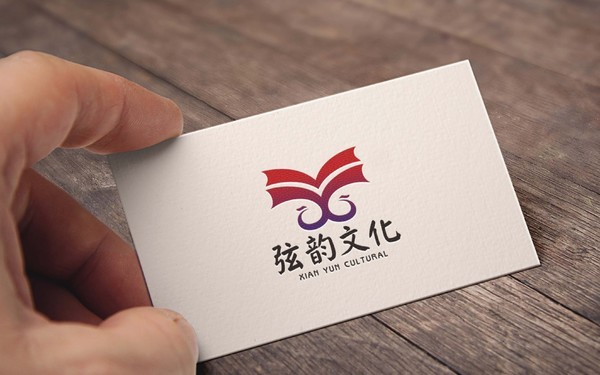 弦韵文化 品牌logo设计