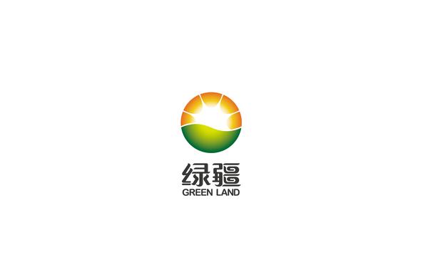 绿疆乳业LOGO设计及包装设计