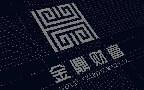 潍坊银行金鼎财富中心vi设计