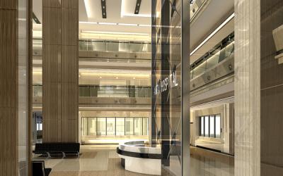 泰山市人民医院室内装饰设计