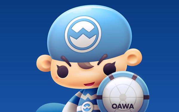 OAWA超人卡通形象设计