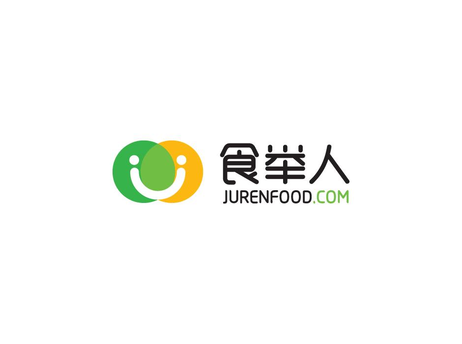 食举人食品销售品牌LOGO设计中标图0