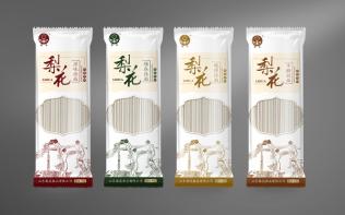 山東梨花品牌掛面包裝系列設計