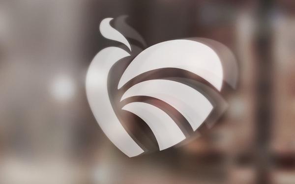 鸠兹彩虹志愿者服务协会标志设计
