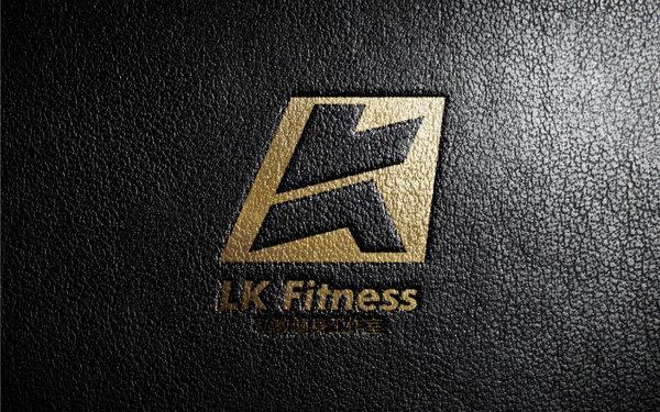 LK私人健身工作室标志