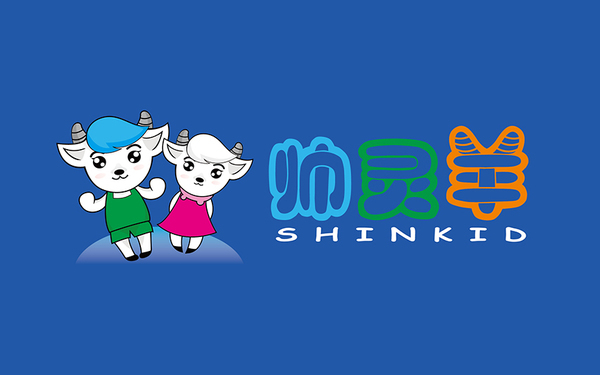 SHINKID品牌标志设计