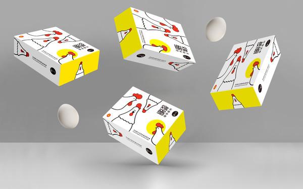嗨蛋-海岛鸡蛋包装设计