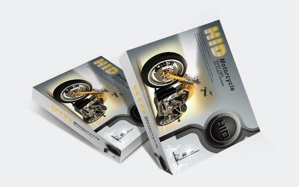 摩托车HID氙气大灯包装设计