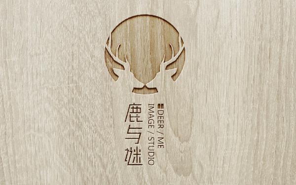 鹿与谜 影像工作室logo设计