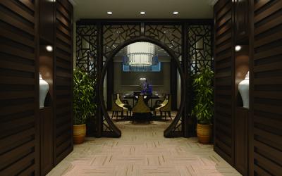 酒店装潢3d效果图设计