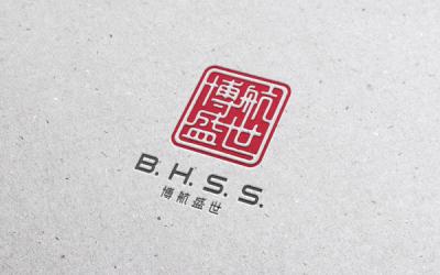 文化传播品牌 博航盛世 logo设计