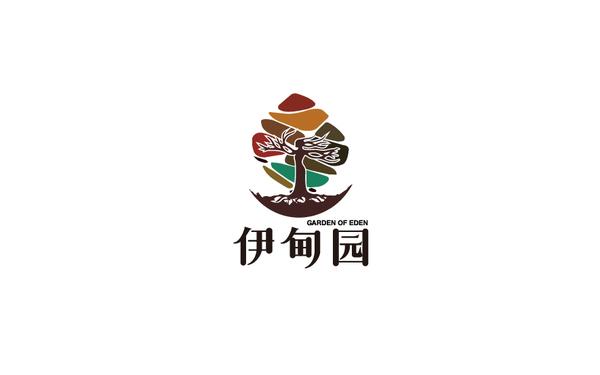 伊甸园品牌logo设计(二)