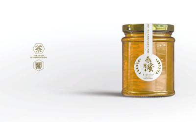 茶叶包装附带赠品茶园蜂蜜包装设计