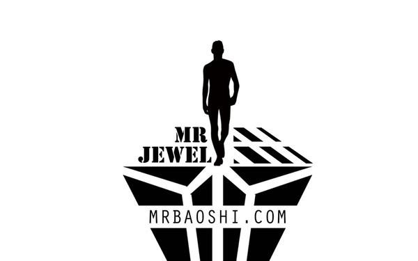 男士珠宝LOGO设计MR宝石