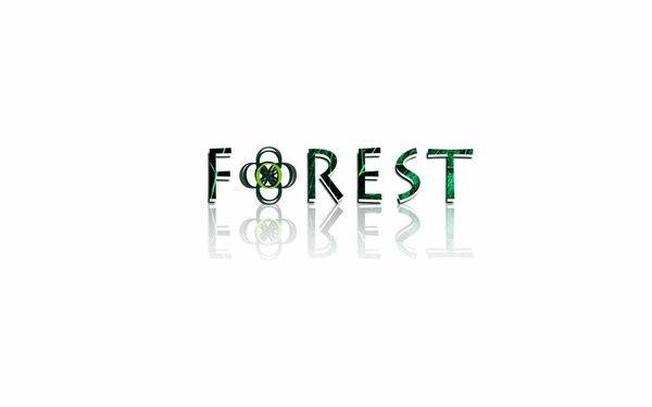 FOREST森林LOGO设计商标应用