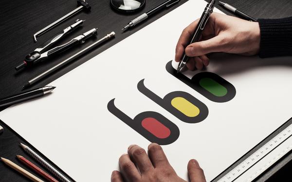 三只豆子LOGO设计商标应用
