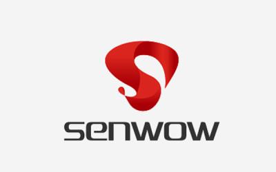 高端耳机品牌Senwow标志设...