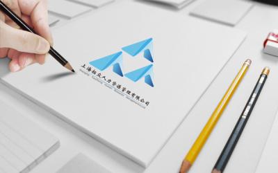 拓众人力资源logo设计